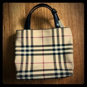 Authentic Burberry Purse small